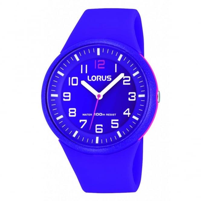 Lorus Kids Kids Purple Silicon Watch RRX57DX9