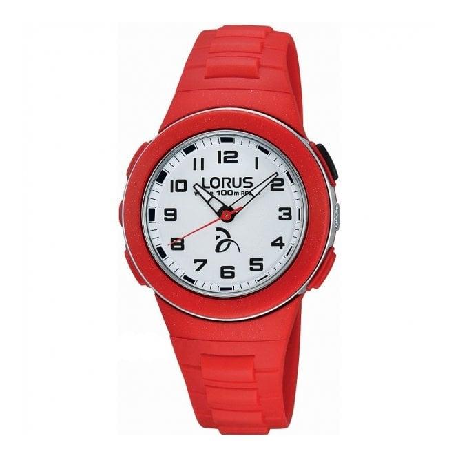 Lorus Kids Kid's Red Plastic Watch R2369KX9