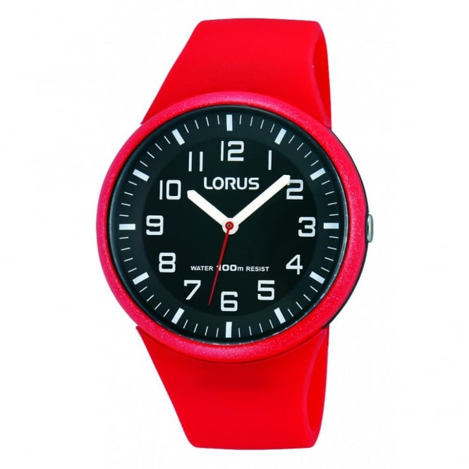 Kids Red Silicone Watch RRX59DX9