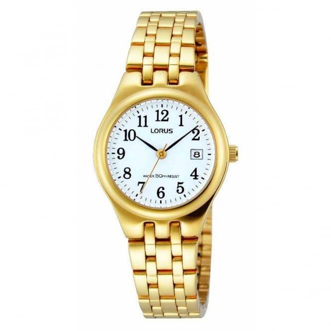 Lorus Ladies Gold Plate Watch RH786AX9