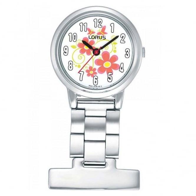 Lorus Ladies' Stainless Steel Fob Watch RG237HX9