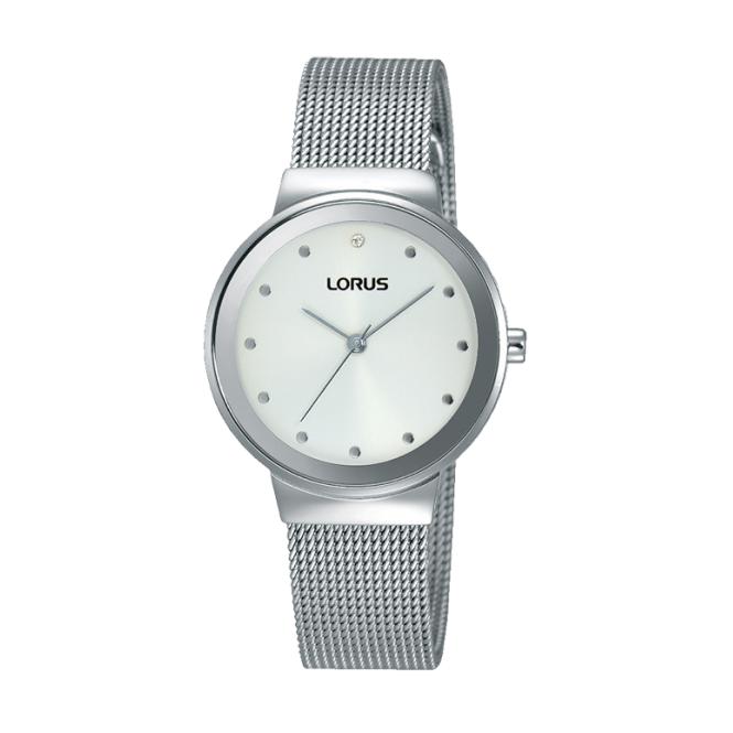 Lorus Ladies' Stainless Steel Watch RG267JX9