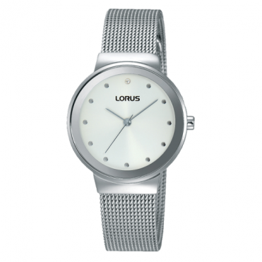 Lorus Ladies' Stainless Steel Watch RG267JX9