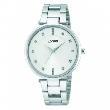 Lorus Ladies' Stainless Steel Watch RRS87UX9