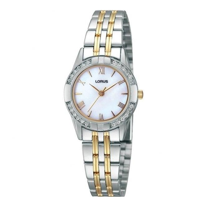 Lorus Ladies' Two Tone Watch RRS93TX9