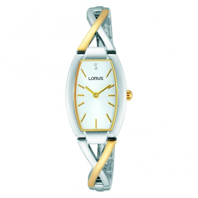Lorus Ladies' Two Tone Watch RRW51EX9