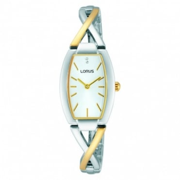 Lorus Ladies' Two Tone Watch RRW51EX9