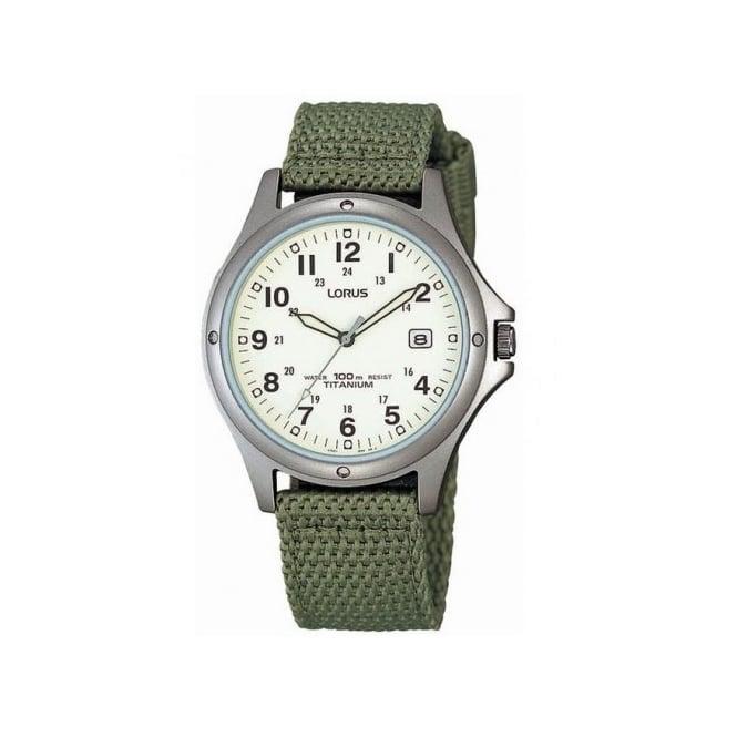 Lorus Men's Titanium Watch RXD425L8