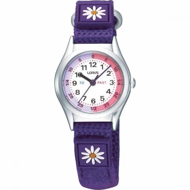 Lorus Kids Purple Time Teacher Watch RG251KX9