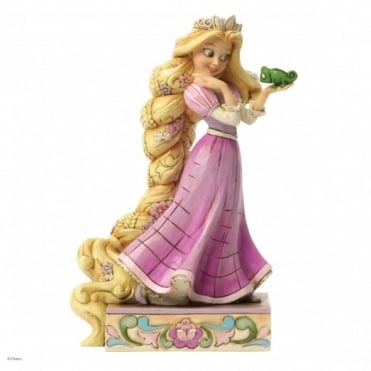 Disney Traditions Loyalty & Love - Rapunzel & Pascal Figurine 4037514