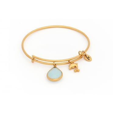 March Gold Plated Lunar Bangle CRBT2103GP