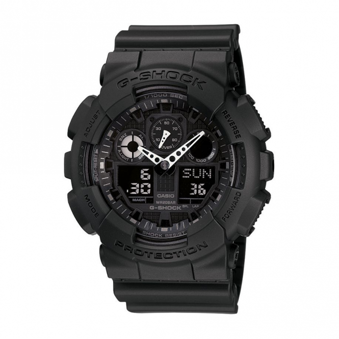 Men's Alarm Chronograph Watch GA-100-1A1ER