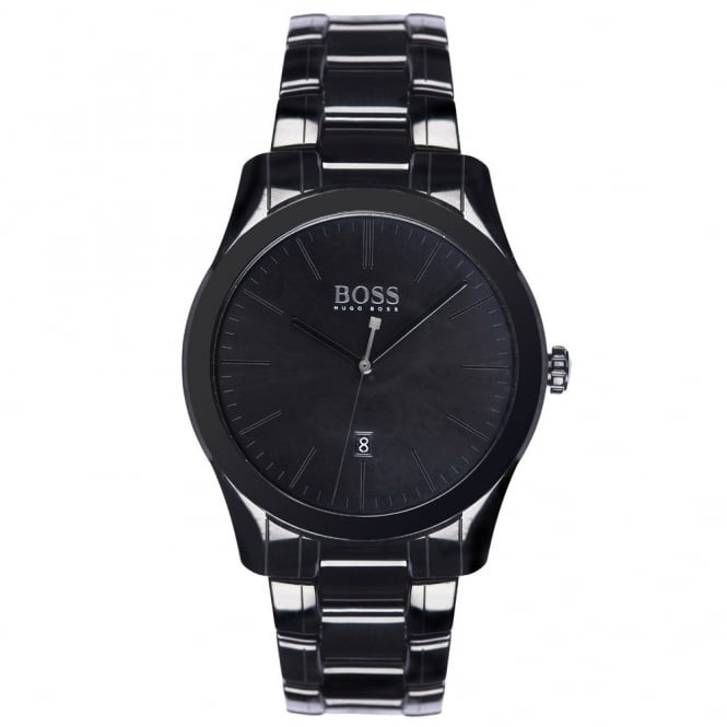 0a1238677c64e Hugo Boss Men s Black Ceramic Ambassador Special Edition Watch 1513223