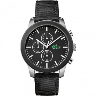 Men's Black Fabric Chrono 12.12 Watch 2010950