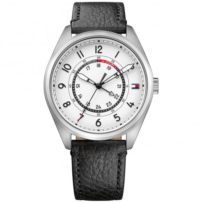 Men's Black Leather Dylan Watch 1791373