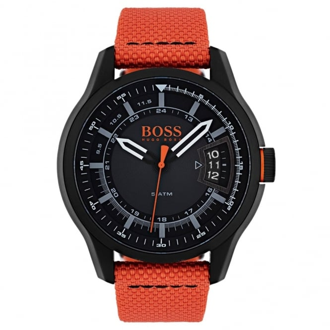 Men's Black PVD Hong Kong Watch 1550001