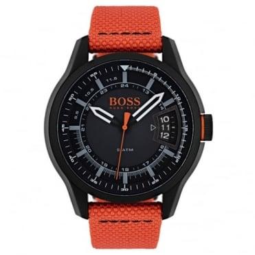 Hugo Boss Men's Black PVD Hong Kong Watch 1550001