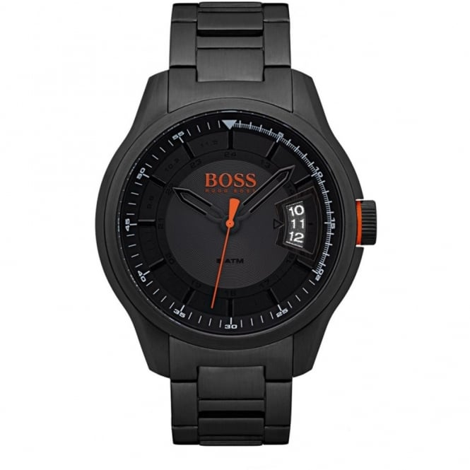Men's Black PVD Hong Kong Watch 1550005