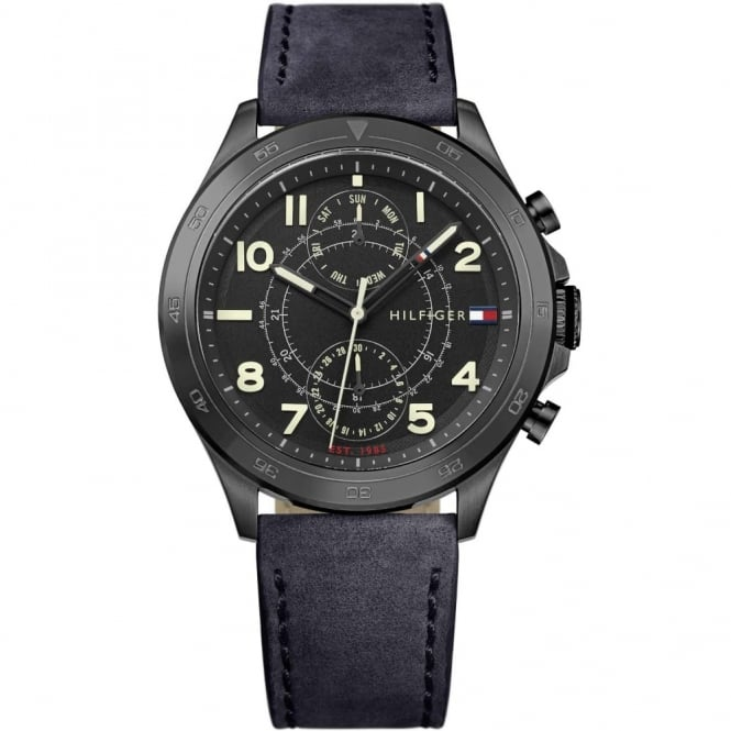 Men's Black PVD Hudson Watch 1791345