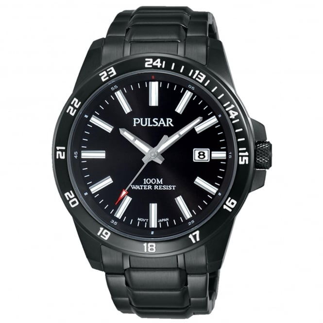 Men's Black PVD Watch PS9461X1