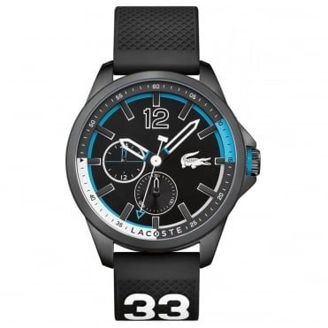 Men's Black Rubber Capbreton Watch 2010896