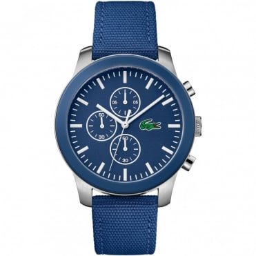 Men's Blue Fabric Chrono 12.12 Watch 2010945