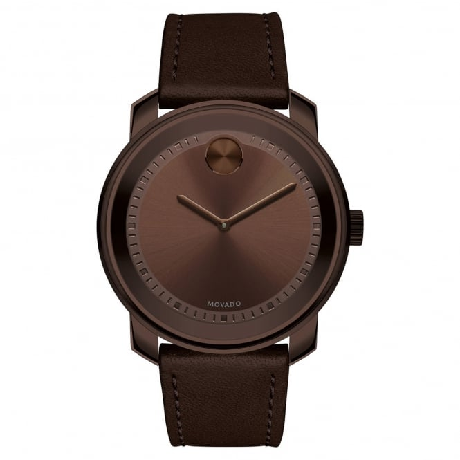 Men's Bold Brown Ion Plate Watch 3600377