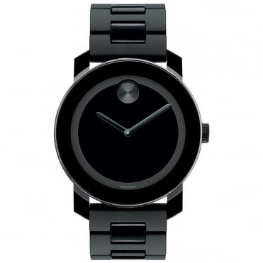 Men's Bold TR90 Black Ion Plate Watch 3600307