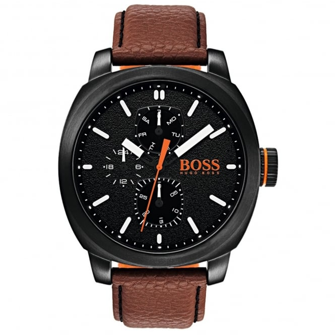 Men's Brown Leather Capetown Watch 1550028