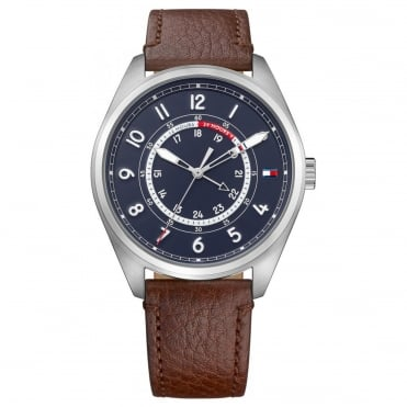 Men's Brown Leather Dylan Watch 1791371
