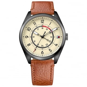 Men's Brown Leather Dylan Watch 1791372