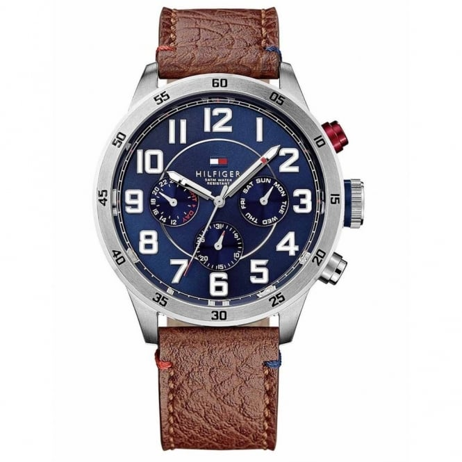 Men's Brown Leather Trent Watch 1791066