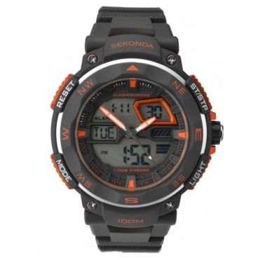 Men's Digital Analogue Chronograph Watch 1163