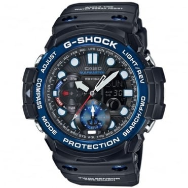 Men's G-Shock Gulfmaster Alarm Chronograph Watch GN-1000B-1AER