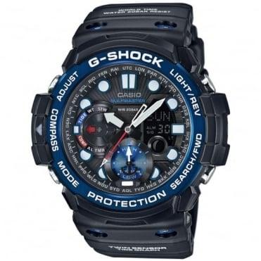 Men's G-Shock Gulfmaster Alarm Chronograph Watch GN-1000B-1AER