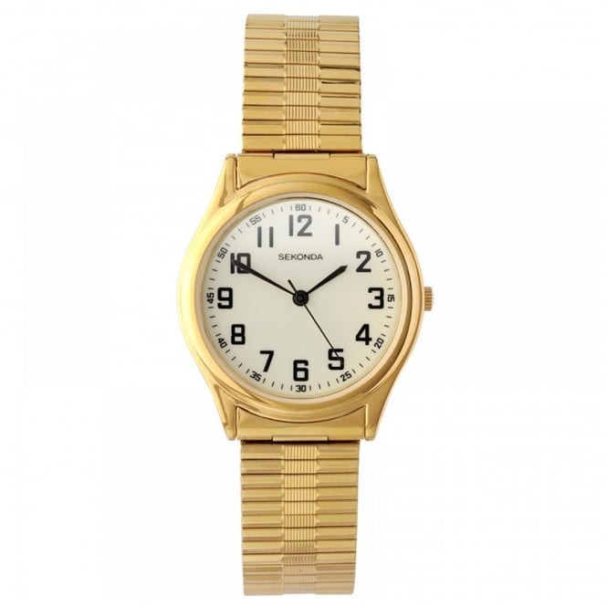 Men's Gold Plate Expanding Watch 3244