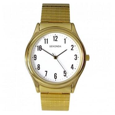 Men's Gold Plate Expanding Watch 3752