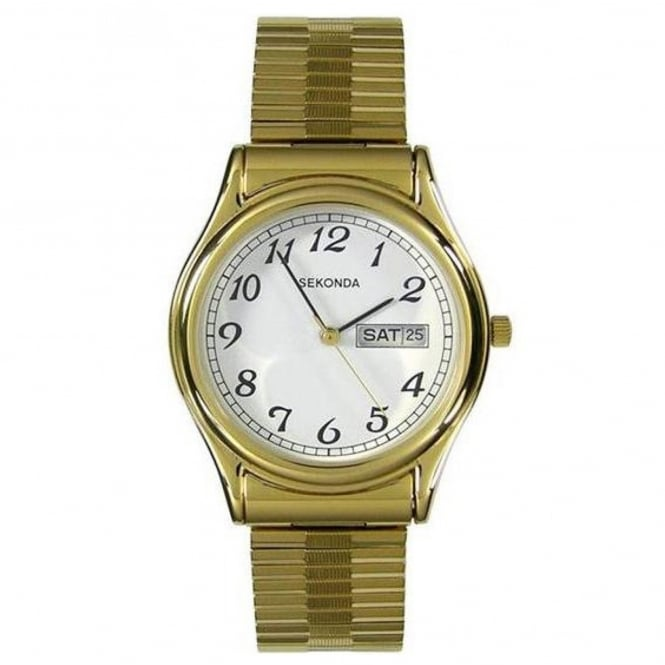 Men's Gold Plate Expanding Watch 3924