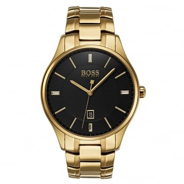 Men's Gold Plate Governor Watch 1513521