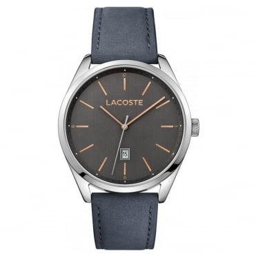 Men's Grey Leather San Diego Watch 2010911