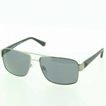 Emporio Armani Mens Gun Metal Sunglasses EA2002 301081 57