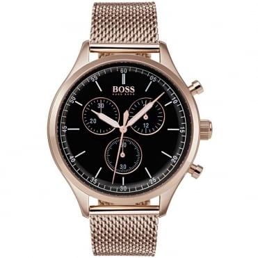 Men's Rose Plate Companion Chronograph Watch 1513548