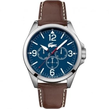 Men's S/Steel Brown Leather Montreal Watch 2010805