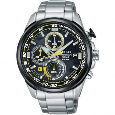 Men's S/Steel Chronograph Solar Watch PZ6003X1