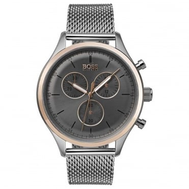Men's S/Steel Companion Chronograph Watch 1513549