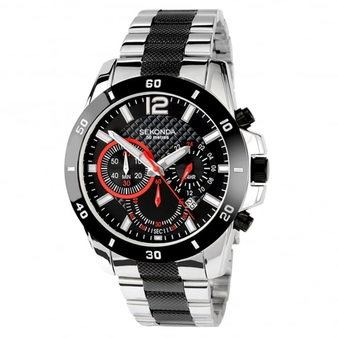 Men's S/Steel Endurance Chronograph Watch 3420
