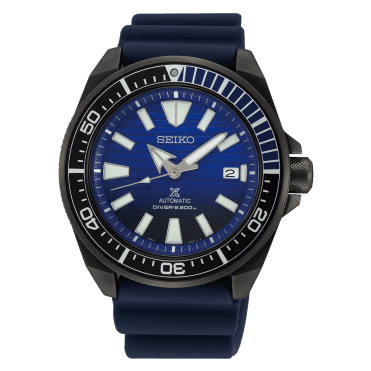 5682dfc0fc4 Seiko Men s Save The Ocean - Black Series Prospex Samurai Watch SRPD09K1