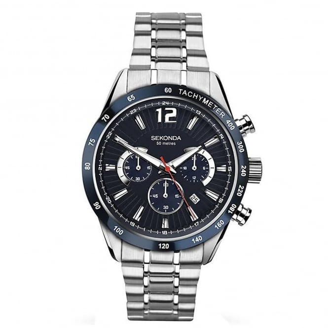 Men's Stainless Steel Chronograph Watch 1226