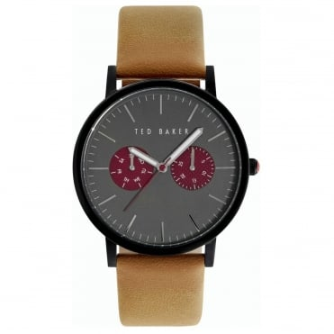 Men's Tan Leather Brit Watch TE10024783