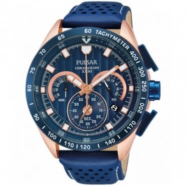Men's Two-Tone Chronograph Watch PU2082X1